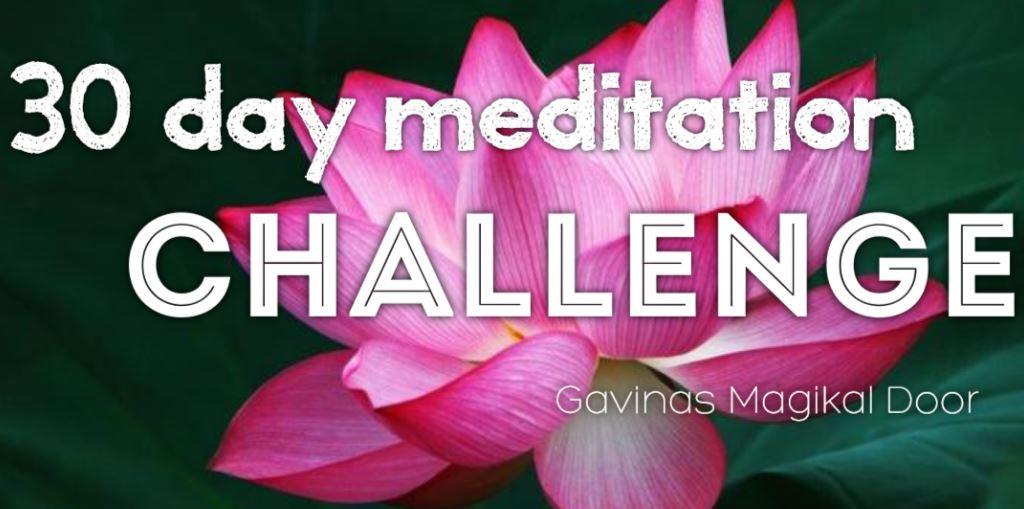 Meditation at Gavina's magikal door