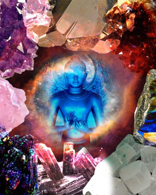 Blue Buddha Stones Gavinas Magikal Door Gem Show Fredericksburg VA