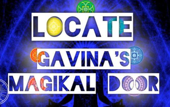 Locate Gavina's Magikal Door