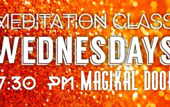 MAgikal Door Meditation Wednesdays at 7:30 PM